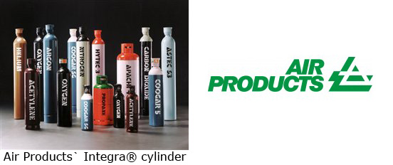 Key features of Air Products` Integra® cylinder